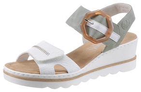 Rieker Sandalette - mint-weiß