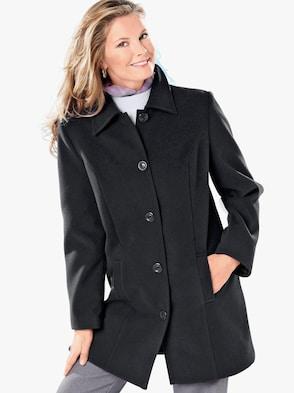 Mantel - zwart