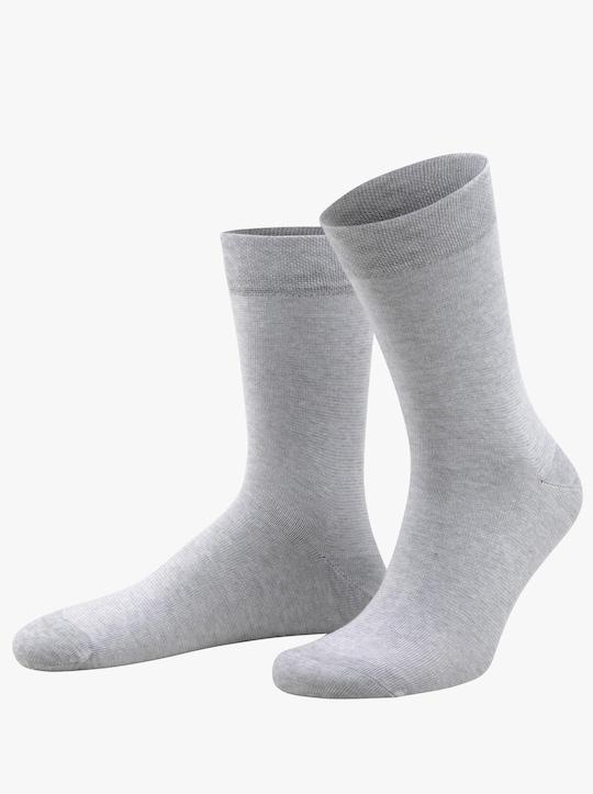 wäschepur Ponožky - šedá-melír
