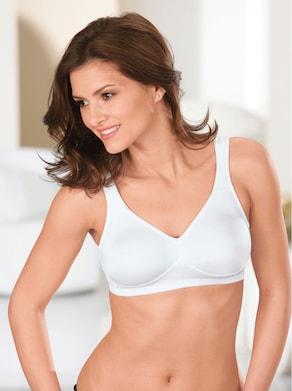 Speidel Komfort-BH ohne Bügel - weiß