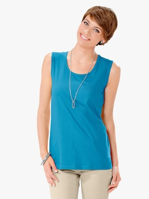Shirttop - turquoise