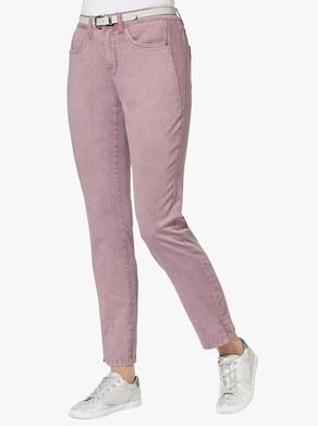 Jeans - mauve