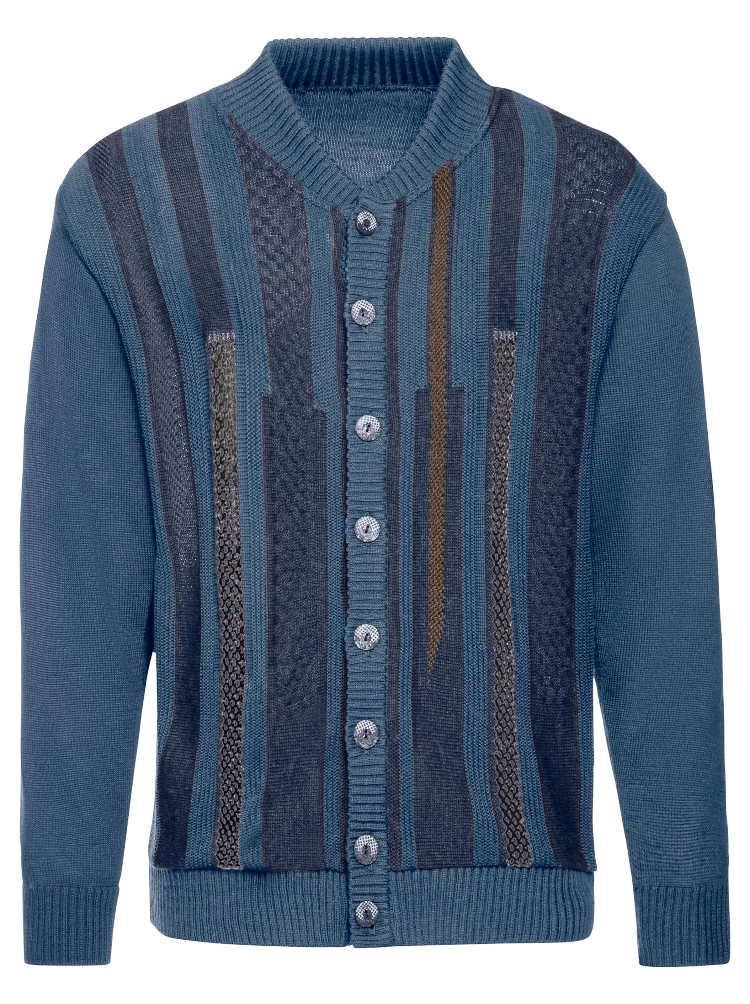 marco donati - Witt Weiden Herren Strickjacke jeansblau