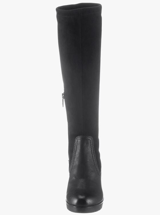Tom Tailor Stiefel - schwarz