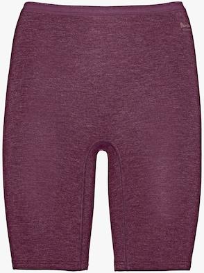 Pants - bordeaux-meliert