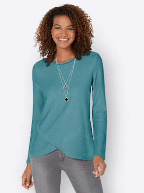Pullover - winterturquoise