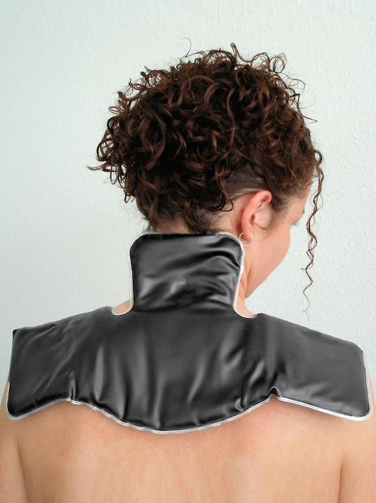Moor-Nacken-Wärmekissen - schwarz