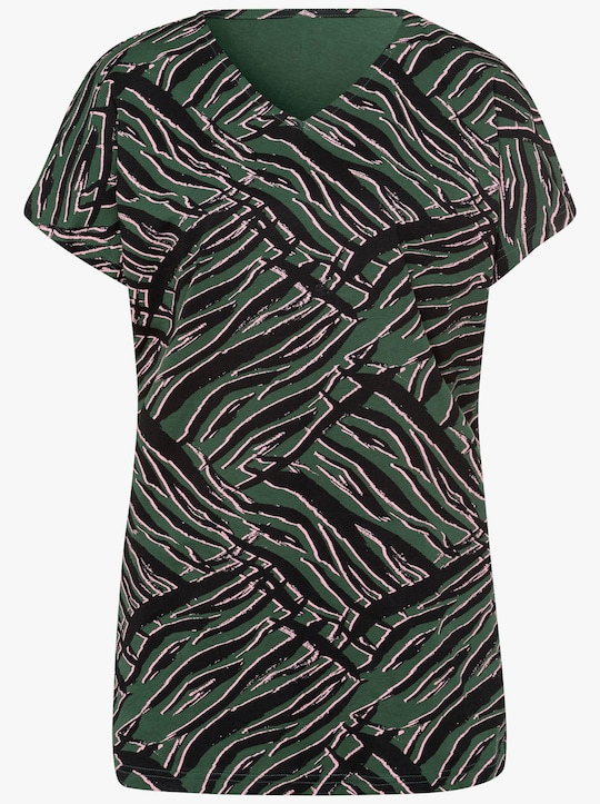 Longshirt - moos-schwarz