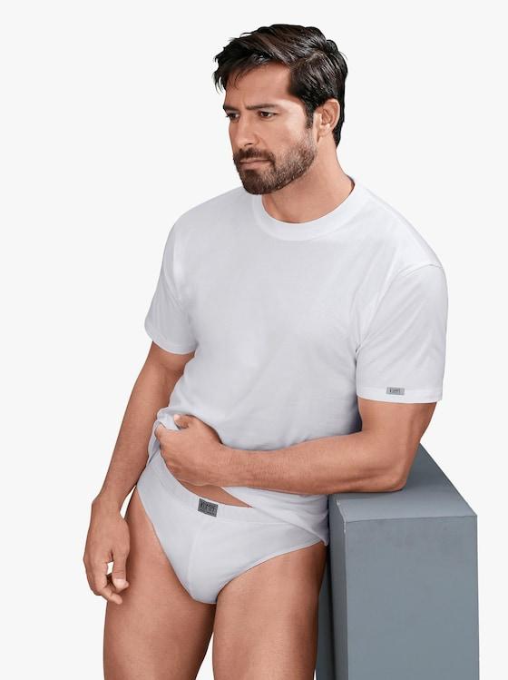 Kumpf Shirt - 2 Stück weiß