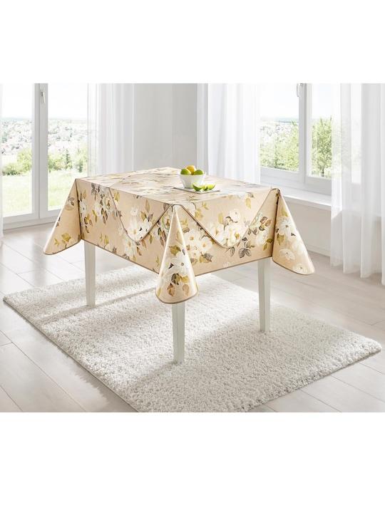 Tischdecke - beige
