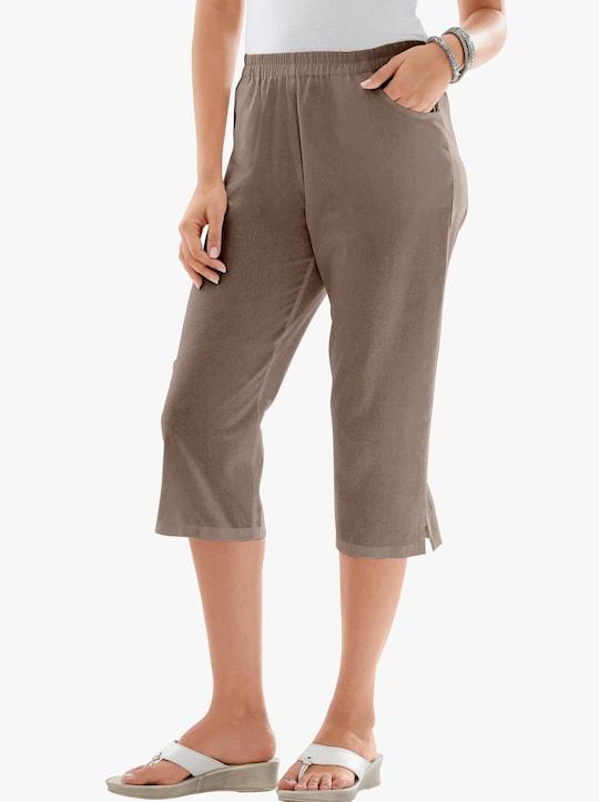 Capri-legging - taupe