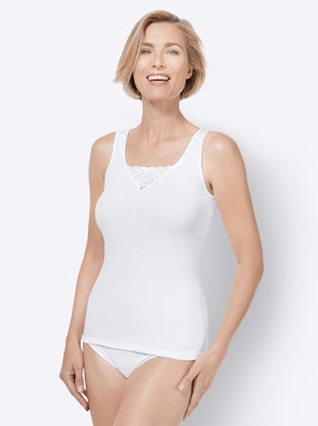 wäschepur Hemd - wit