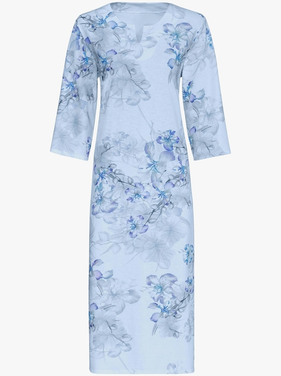 Arabella Nachthemd - bleu-bedruckt