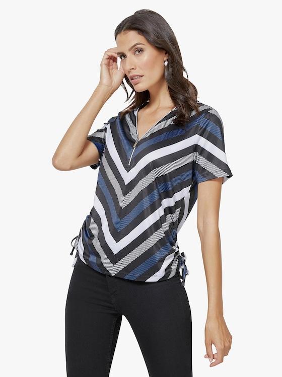 Shirt - royal-bedruckt