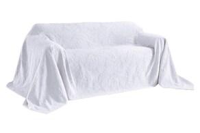 Pereira da Cunha Sofaüberwurf - weiß