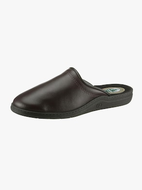 Pantofle - hnědá