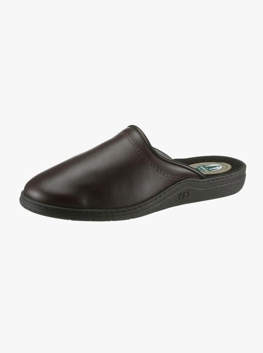 Papuče - hnedá