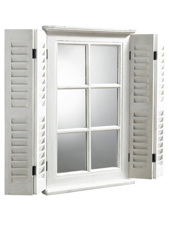 heine home Spiegelfenster - weiß