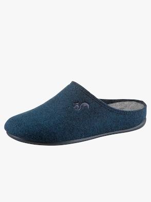 Pantolette - blau