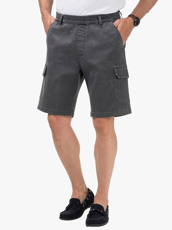Jeans-Bermudas - grey-denim