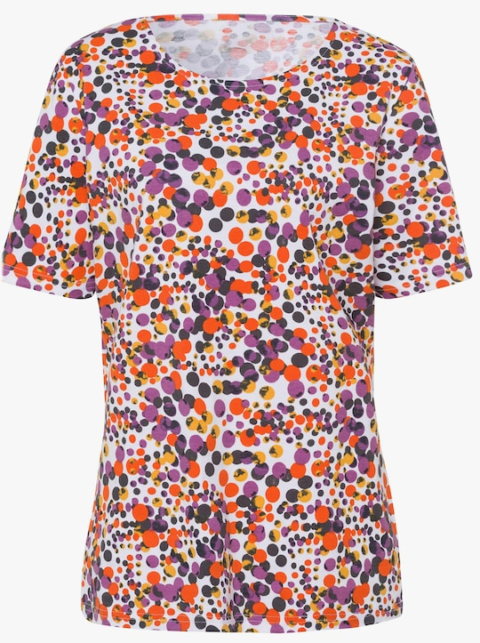 Shirt - oranje gedessineerd