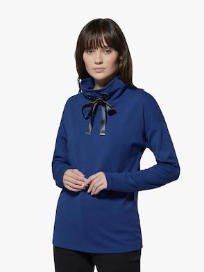 Pima-Baumwolle-Modal-Shirt - royalblau