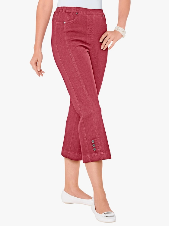 3/4-jeans - rood