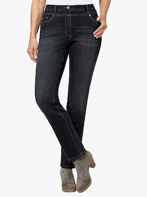 Jeans - black-denim