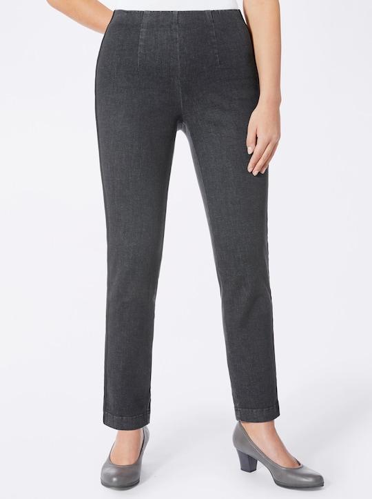 Cosma Jeans - black-denim