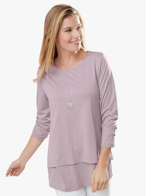 Tričko - svetloružová