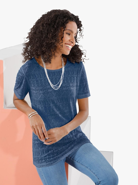 Tričko - džínová modrá