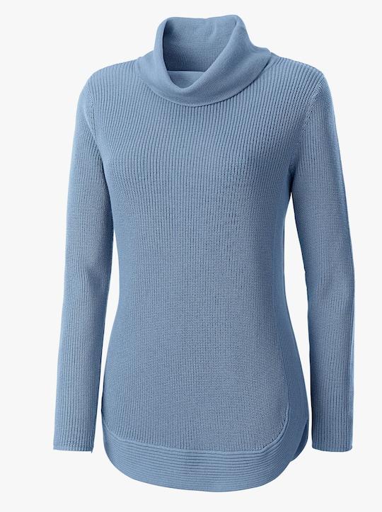 Collection L Pullover - bleu