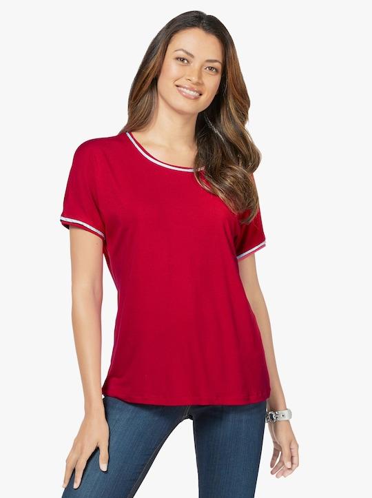 feel good Shirt - rot