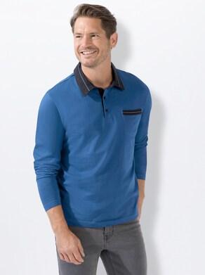 Catamaran Langarm-Shirt - royalblau