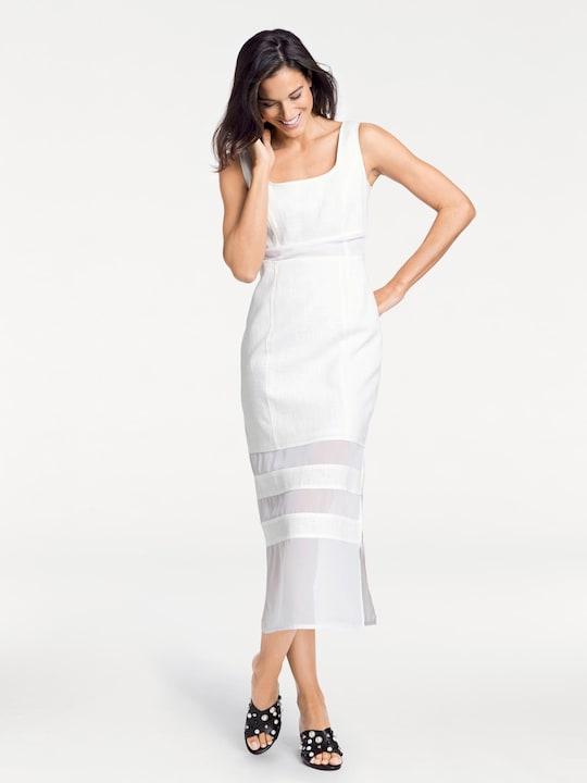 Rick Cardona Linnen jurk - wit