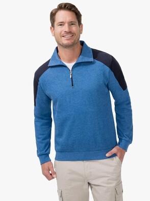 Sweatshirt - mittelblau