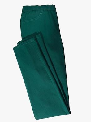 Džínsy - jedľová zelená