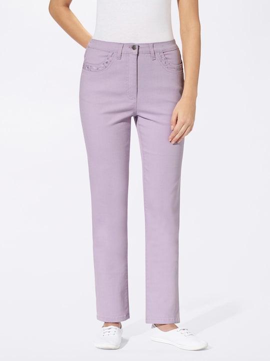 Jeans - flieder