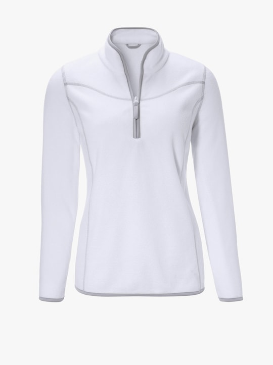 Fleecové tričko - ecru