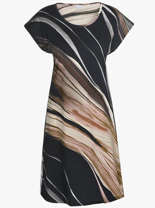 Arabella Sommerkleid - schwarz-braun