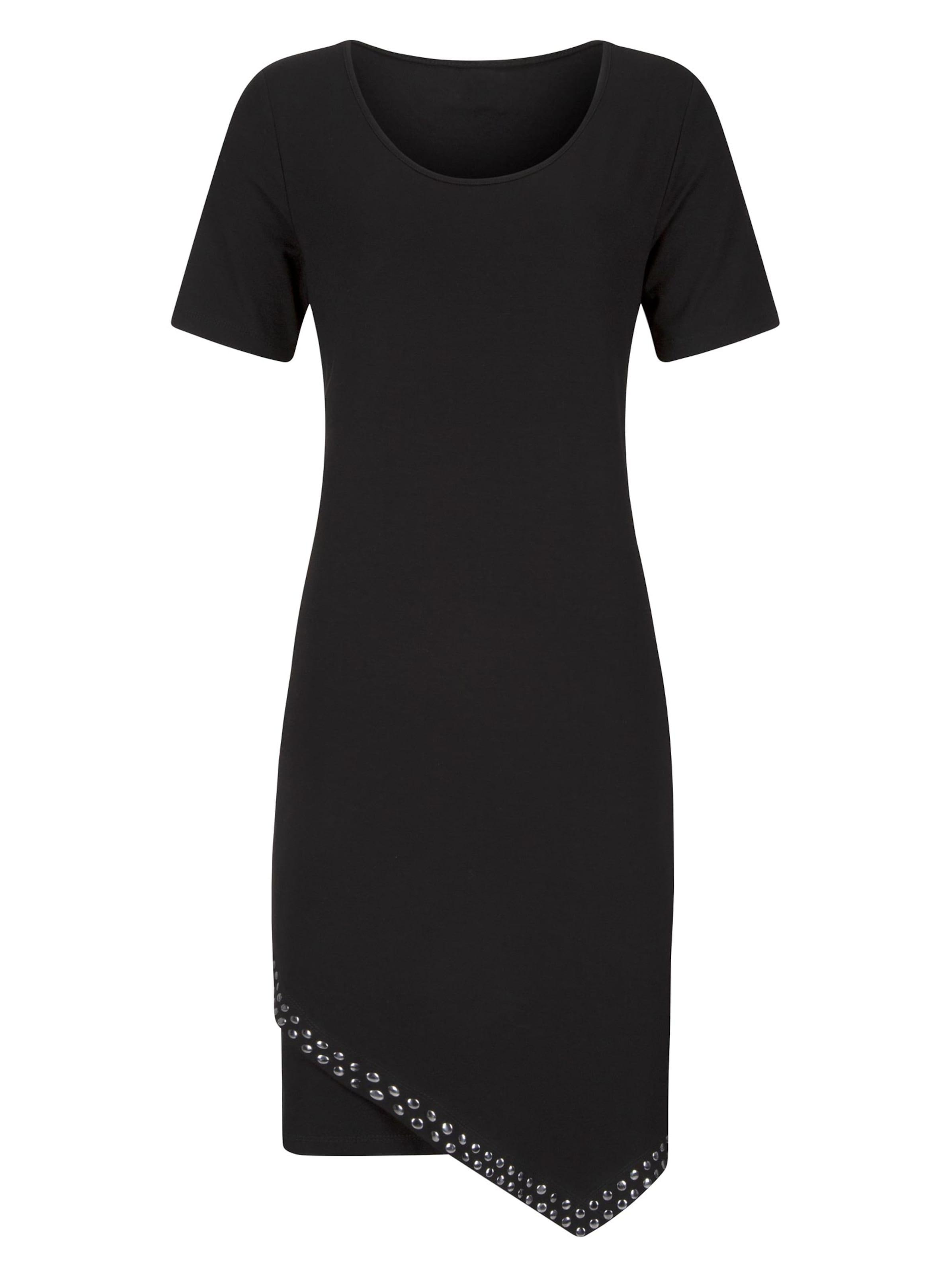 witt weiden -  Damen Jersey-Kleid schwarz