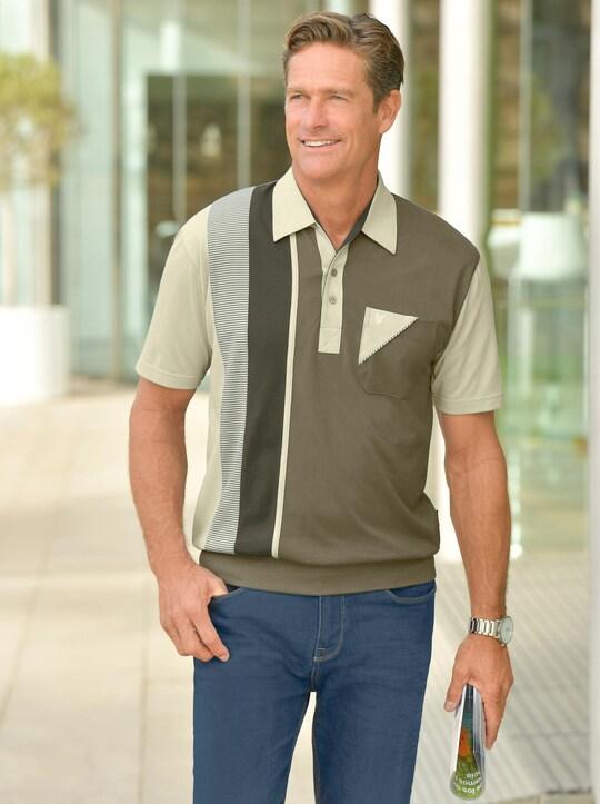Hajo Kurzarm-Poloshirt - schilf