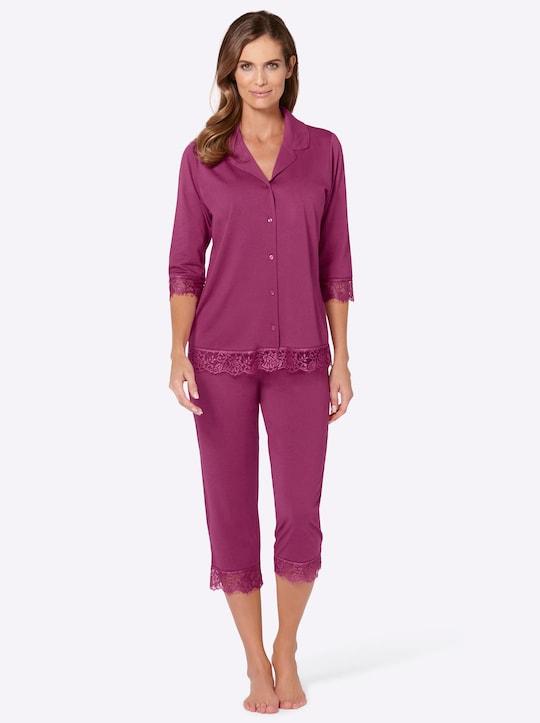 wäschepur Pyjama - fuchsia
