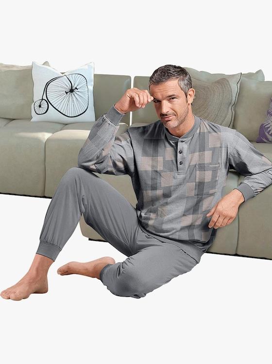 Normann Schlafanzug - grau