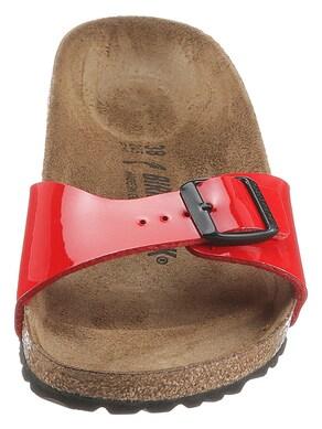 Birkenstock Pantolette - rot-glänzend