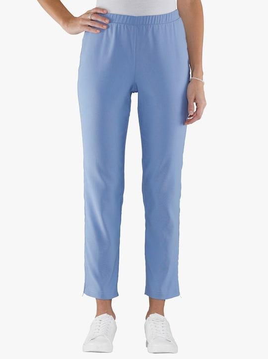 Broek - jeansblauw