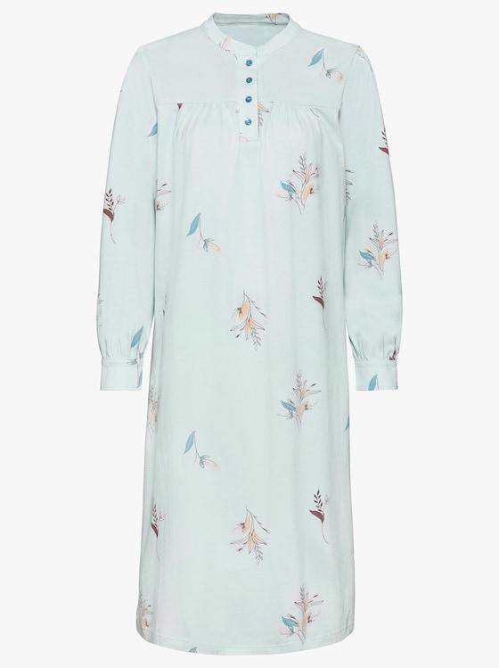 wäschepur Nachthemd - mint-bedruckt