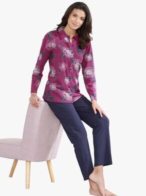 Schlafanzug - malve-bedruckt
