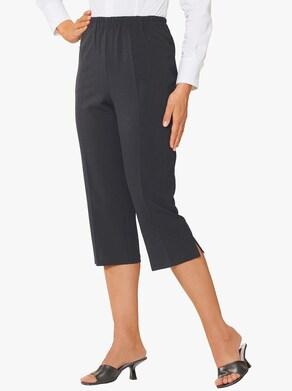 Capri kalhoty - černá