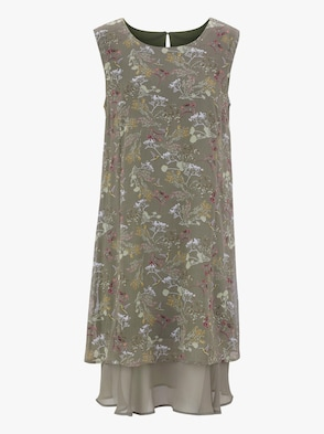 Kleid - schilf-rosé-bedruckt